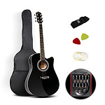 41 inch 5- Band EQ Electric Acoustic Guitar Full Size Black - Brand New