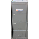 C Class Four Drawer Filing Cabinet