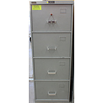 BK Safes C Class Four Drawer Filing Cabinet