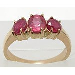 9ct Rose Gold Ruby Ring