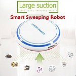 Robotic Automatic Cleaner with Anti-collision System for Sweeping & Mopping - Brand New