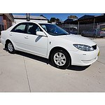 8/2005 Toyota Camry Altise Limited MCV36R 06 UPGRADE 4d Sedan White 3.0L