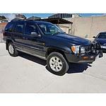 12/2000 Jeep Grand Cherokee Limited (4x4) WG 4d Wagon Black 4.7L