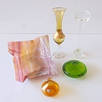 Collection of Art Glass, Including Devine Glass Design Dish