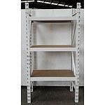 3-Layer Adjustable Racking - Demonstration Model - White