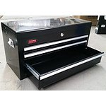 3-Drawer Chest Tool Box - Black