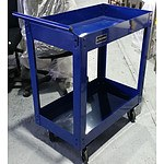 Trolley Roller Work Station - Demonstration Model - Blue