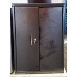 Wall Mount Tool Cabinet - Demonstration Model - Gray