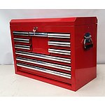 New 10 Drawer Tool Chest - Demonstration Model - Red