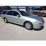 2/2003 Ford Falcon Futura BA 4d Wagon Green 4.0L