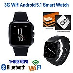 3G Android Smart Watch Phone with Bluetooth, HeartRate, Pedometer - Brand New