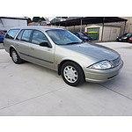 7/2001 Ford Falcon Forte AUII 4d Wagon Gold 4.0L
