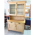 Kauri Pine Kitchen Cabinet