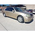 6/2002 Lexus Ls430  UCF30R 4d Sedan Gold 4.3L