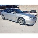 8/2002 Holden Commodore SS VXII 4d Sedan Silver 5.7L