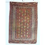 Hand Woven Wool Pile Turkmen Rug