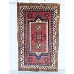 Caucasian Hand Woven Wool Pile Kazak Rug