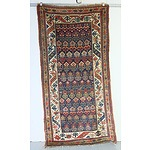 Semi Antique Hand Knotted Wool Pile Caucasian
