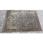 Large Indian Rashman Wool Pile Carpet