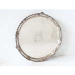 Georgian Sterling Silver Salver