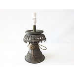 Decorative Cast Metal Lamp Base