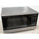 Sharp R-350Y 1200W Microwave