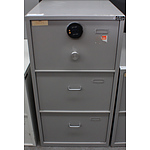 Bosco B Class Three Drawer Filing Cabinet