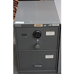 Fileguard B Class Two Drawer Filing Cabinet