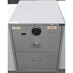 Bosco B Class Two Drawer Filing Cabinet