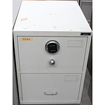 Planex B Class Two Drawer Filing Cabinet