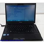 Toshiba Portege R830 13.3 Inch Widescreen Core i5 Laptops - Lot of 2
