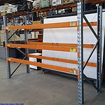 Colby Single Bay Pallet Racking