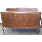 Queen Anne Style Sideboard Circa 1930