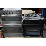 Kleenmaid Gas Wall Ovens and Cooktop - Lot of Three