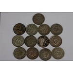 Assorted Shillings - Lot of 13