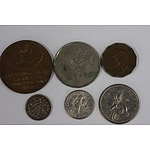 Miscellaneous Currencies - Lot of 8