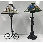 Decorative Glass Pieces and Boutique Lamps