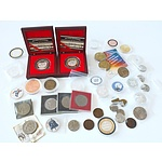 Collection of Coins and Tokens