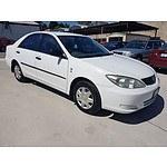 10/2002 Toyota Camry Altise MCV36R 4d Sedan White 3.0L