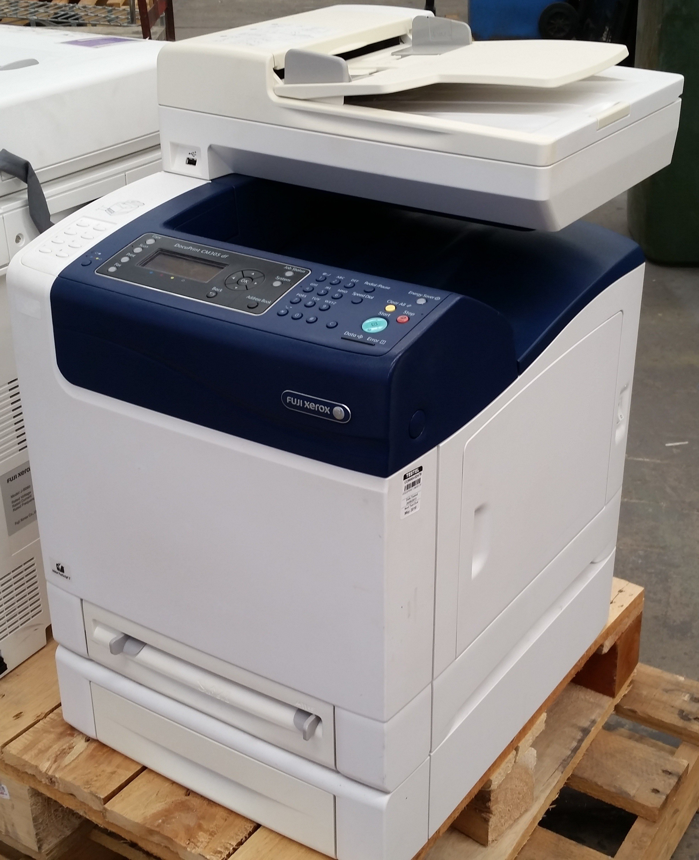 FUJI XEROX DOCUPRINT CM305 DRIVER PC