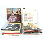 Collection of Records, Including The King and I, Roger Williams, Les Elgart On Tour, and More