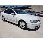 8/2004 Ford Falcon Futura BA 4d Sedan White 4.0L