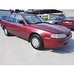 7/1993 Holden Apollo SLX JM 4d Sedan Maroon 2.2L
