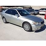 7/2003 Lexus IS200 GXE10R 4d Sedan Silver 2.0L