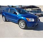 1/2011 Dodge Caliber SXT PM MY10 5d Hatchback Blue 2.0L