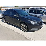 10/2009 Holden Cruze CD JG 4d Sedan Black 1.8L