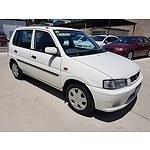 3/1998 Mazda 121 Metro  5d Hatchback White 1.5L