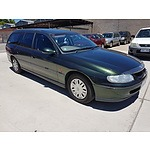 7/1998 Holden Commodore Acclaim VT 4d Wagon Green 3.8L