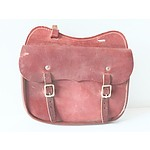 Vintage Leather Postman's Satchel
