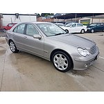 9/2005 Mercedes-Benz C350 Elegance W203 MY06 4d Sedan Silver 3.5L